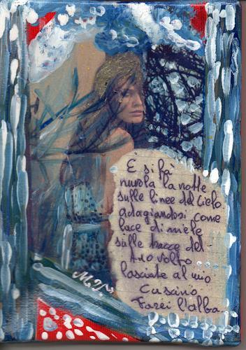 Virgy, Es Ist Nacht, Poetry, Emotions: Love, Arte Cifra