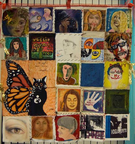 Virgy, self-portrait, People: Women, People: Faces