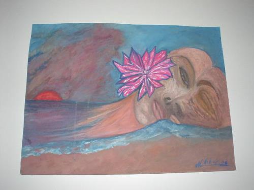 Virgy, A dream a farewell, Abstract art, Abstract art, Modern Times