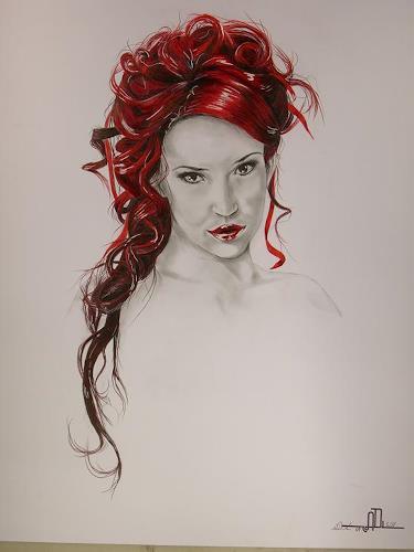 Arndt Draxler, Bianca 3, People: Portraits
