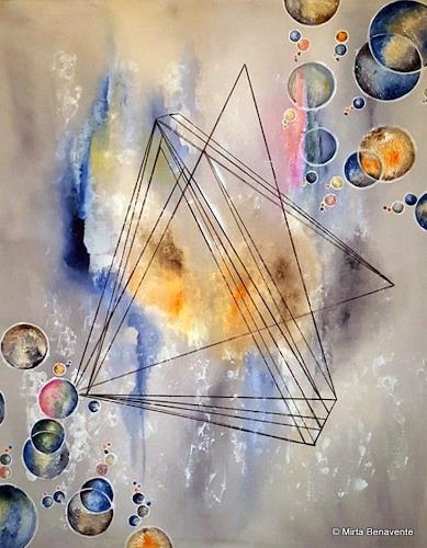 Mirta Benavente, Geometria 15, Abstract art, Abstract Art