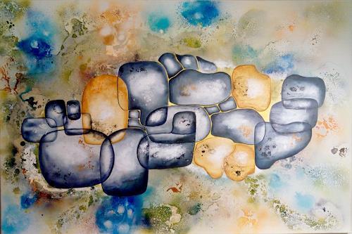 Mirta Benavente, Codigo de enlaces humanos, Architecture, Abstract Art