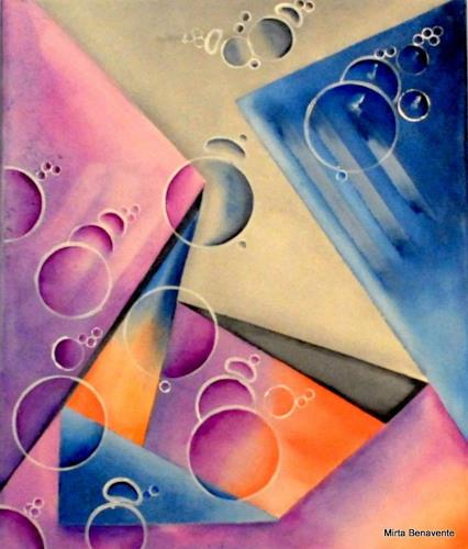 Mirta Benavente, Geometría 15, Abstract art, Abstract Art