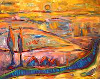 Guenter-Limburg-Landscapes-Hills-Contemporary-Art-Neo-Expressionism
