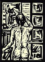 Guenter-Limburg-Erotic-motifs-Female-nudes-Contemporary-Art-Neo-Expressionism