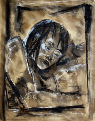 Günter Limburg, ohne Titel, People: Women, Expressive Realism