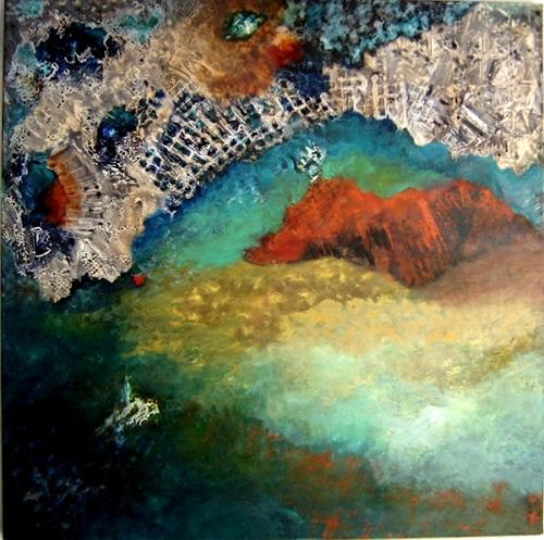 Sara Diciero, Llena de misterio, Abstract art, Miscellaneous Outer Space, Abstract Expressionism