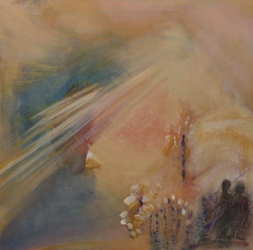 Andrea Finck, Orient, Abstract art, Miscellaneous, Contemporary Art