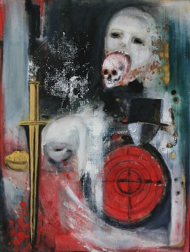 Andrea Finck, Albtraum, Fantasy, Contemporary Art