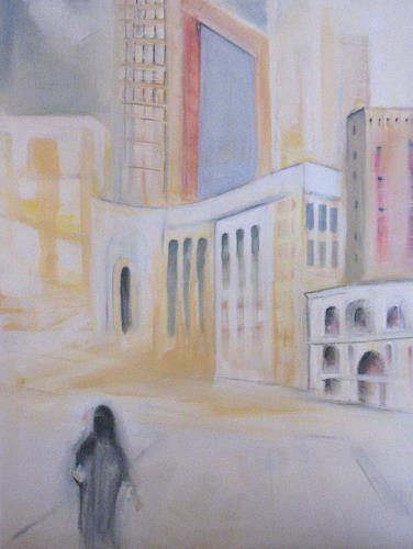 Andrea Finck, Arabic City (Mekka), Architecture, Society, Contemporary Art