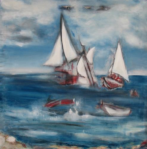 Andrea Finck, Sansibar, Nature: Water, Movement, Contemporary Art