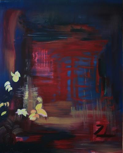 Andrea Finck, Japanischer Regen, Miscellaneous, Abstract art, Contemporary Art