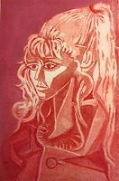 A. Finck, Sylvette, nach Picasso