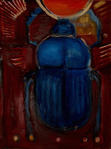 Andrea Finck, Skarabäus, History, Religion, Contemporary Art