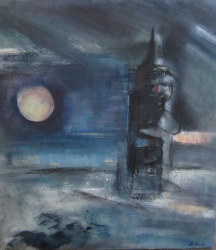 Andrea Finck, Leuchtturm, Nature, Abstract Art