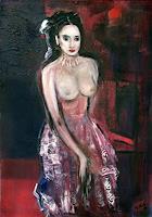 Andrea-Finck-Erotic-motifs-Female-nudes-People-Women-Contemporary-Art-Contemporary-Art