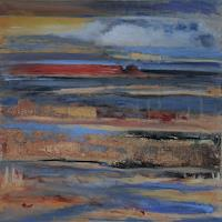 Andrea-Finck-Landscapes-Sea-Ocean-Nature-Water-Modern-Age-Expressive-Realism