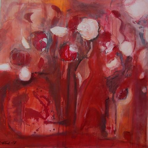 Andrea Finck, Red Mystery, Miscellaneous Landscapes, Poetry, Contemporary Art, Abstract Expressionism