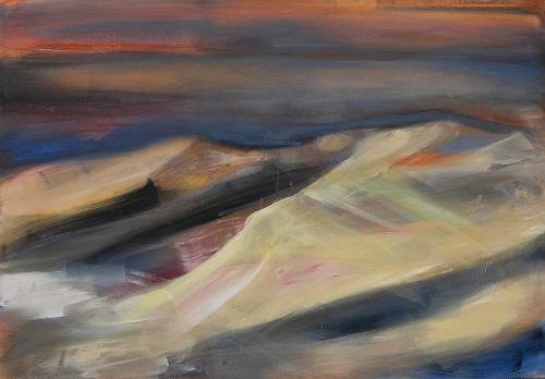 Andrea Finck, Sahara, Landscapes, Nature: Earth, Contemporary Art, Expressionism