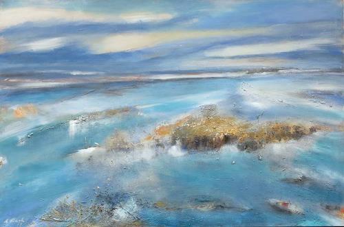 Andrea Finck, Terra australis, Landscapes: Sea/Ocean, Landscapes: Summer, Contemporary Art, Expressionism
