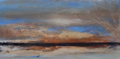 Andrea Finck, Fata Morgana II, Miscellaneous Landscapes, Miscellaneous, Contemporary Art