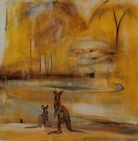 Andrea-Finck-Landscapes-Summer-Animals-Land-Contemporary-Art-Contemporary-Art