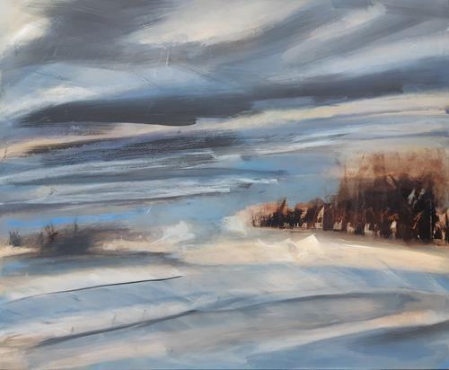 Andrea Finck, Rungholt, Landscapes, Nature: Water, Contemporary Art