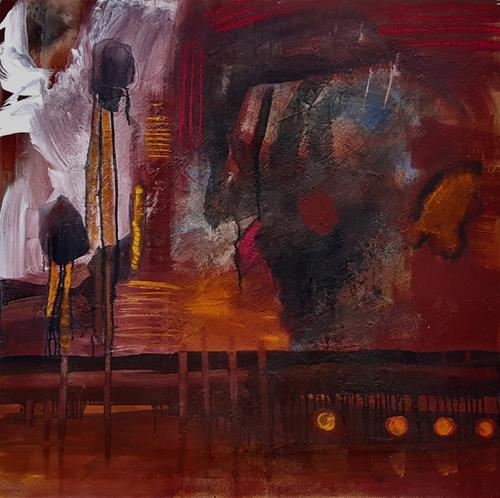 Andrea Finck, Ohne Titel, Abstract art, Contemporary Art, Abstract Expressionism