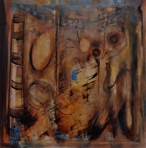Andrea Finck, Australia Feeling, Mythology, Others, Abstract Expressionism