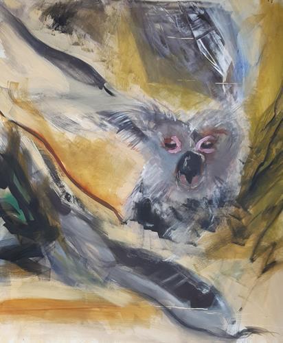 Andrea Finck, Dschungl, Animals, Contemporary Art