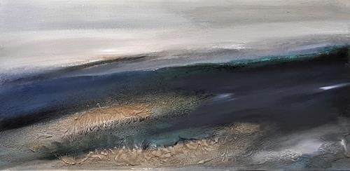 Andrea Finck, Mare II, Nature, Abstract Art