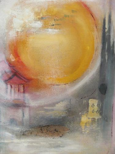 Andrea Finck, Asia, Landscapes: Summer, Abstract art, Contemporary Art