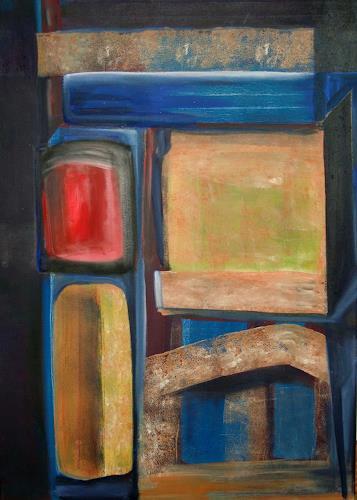 Andrea Finck, Kleiner Tempel, Abstract art, Religion, Contemporary Art