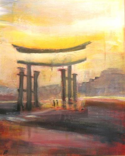 Andrea Finck, Torii, Mythology, Religion, Contemporary Art