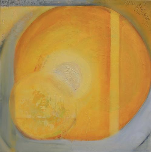 Andrea Finck, Quadratur des Kreises, Abstract art, Symbol, Contemporary Art