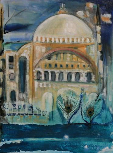 Andrea Finck, Hagia Sophia, Istanbul, Architecture, History, Contemporary Art