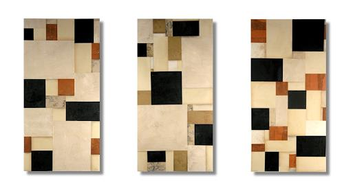 cecil touchon, Fusion Series #2481, #2482, #2483, Abstract art, Abstract art, De Stijl