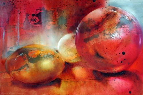 Annette Schmucker, Glasperlenspiel, Abstract art, Still life, Contemporary Art, Expressionism
