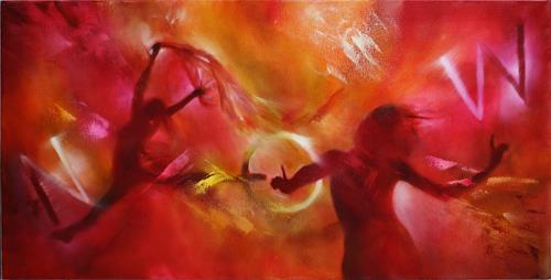 Annette Schmucker, Now!, Emotions: Joy, People: Women, Contemporary Art, Expressionism