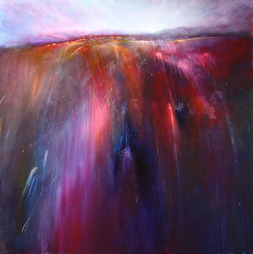 Annette Schmucker, Sunrise, Miscellaneous Landscapes, Romantic motifs: Sunrise, Contemporary Art, Expressionism