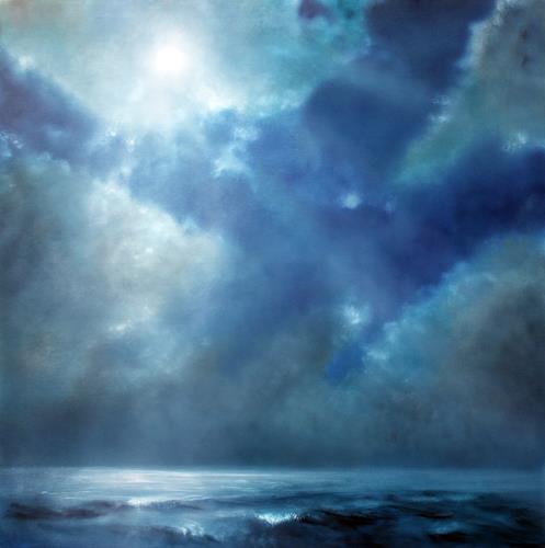 Annette Schmucker, Veränderung, Landscapes: Sea/Ocean, Miscellaneous Emotions, Contemporary Art, Expressionism