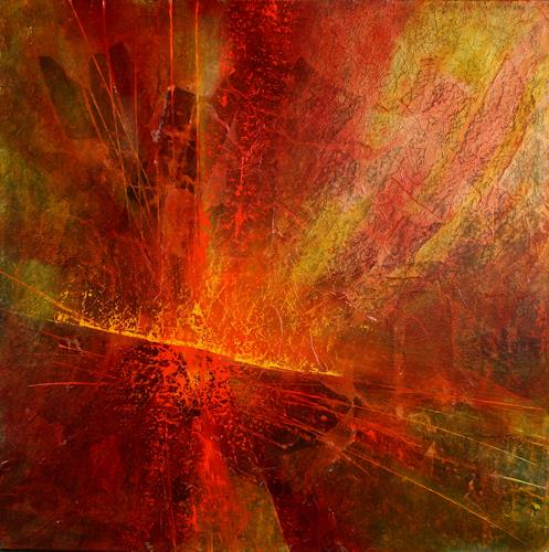 Annette Schmucker, Energiebündel, Abstract art, Movement, Contemporary Art, Expressionism