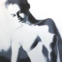 A. Schmucker, Karla, weiß und schwarz