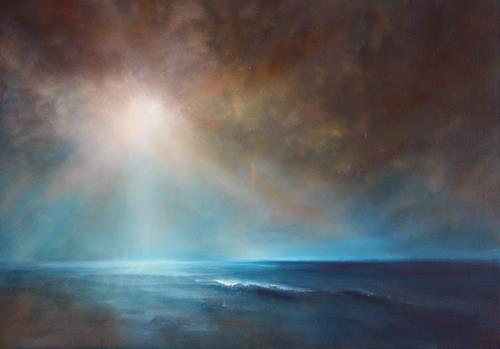 Annette Schmucker, Kraft und Stille, Landscapes: Sea/Ocean, Landscapes: Beaches, Contemporary Art, Expressionism