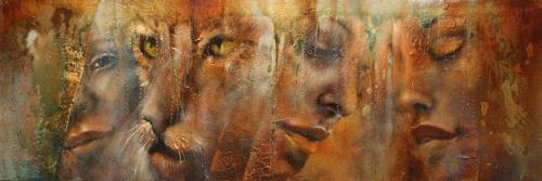 Annette Schmucker, Faces, Still life, Meal, Contemporary Art, Expressionism