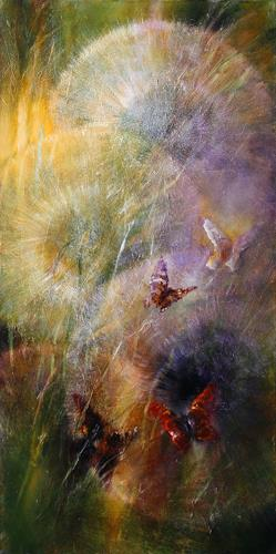 Annette Schmucker, Verzaubert, Plants, Plants: Flowers, Contemporary Art, Expressionism