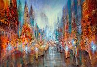 Annette-Schmucker-Miscellaneous-Landscapes-Abstract-art-Modern-Age-Abstract-Art-Action-Painting