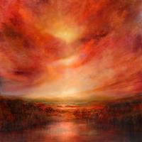 Annette-Schmucker-Landscapes-Plains-Landscapes-Summer-Contemporary-Art-Contemporary-Art