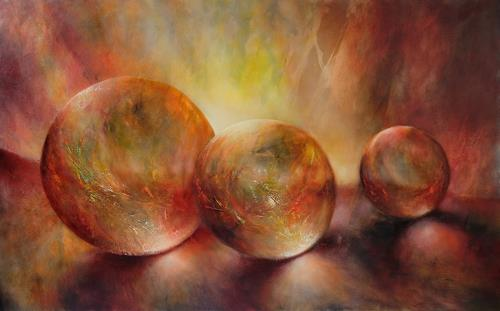 Annette Schmucker, Purple light, Still life, Fantasy, Contemporary Art