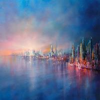 Annette-Schmucker-Landscapes-Landscapes-Sea-Ocean-Modern-Age-Impressionism-Neo-Impressionism